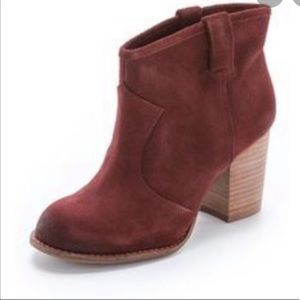 Splendid Cranberry Lakota Ankle Bootie